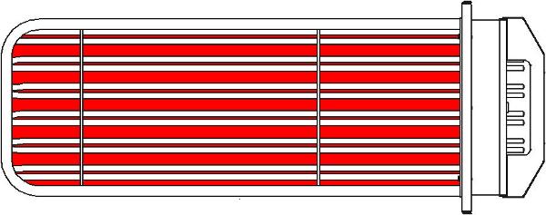 Рисунок 1 - Тепловой блок Ротор-Агро шахматный порядок