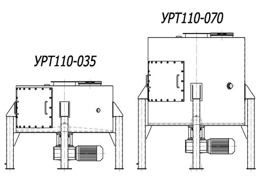 Рис.1 Узлы распределительные тарельчатые типа УРТ110