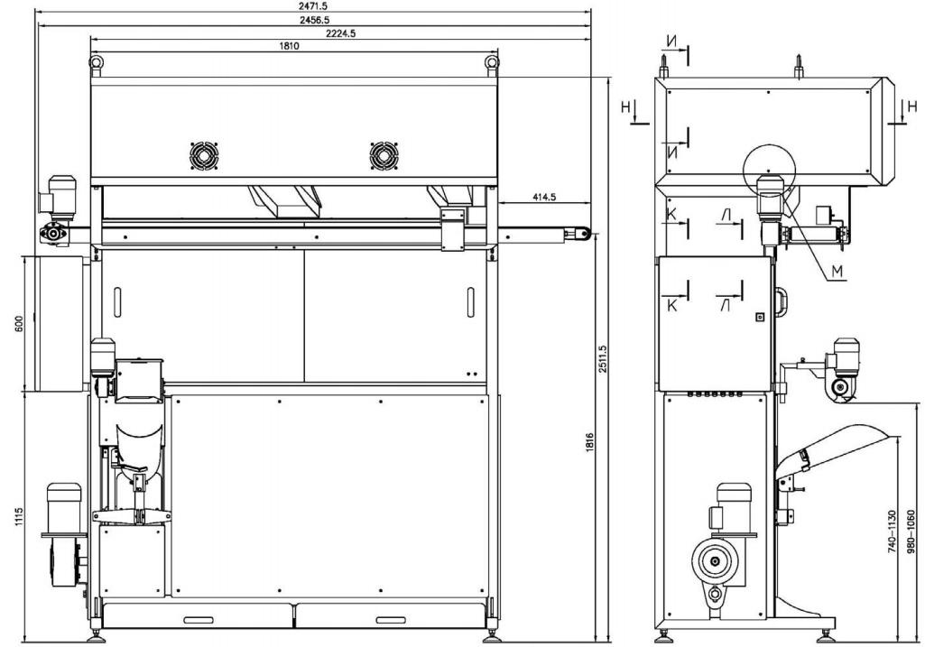 Шкаф предварительной расстойки Релакс-Агро