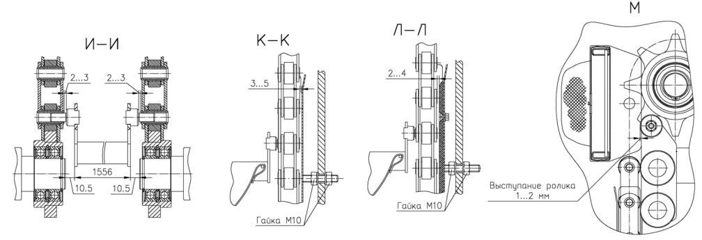 Общий вид и устройство шкафа расстойного динамического ШРДЛм 8/28 - продолжение