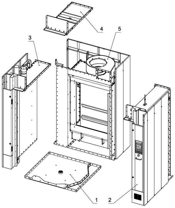 Основные блоки Ротор-Агро