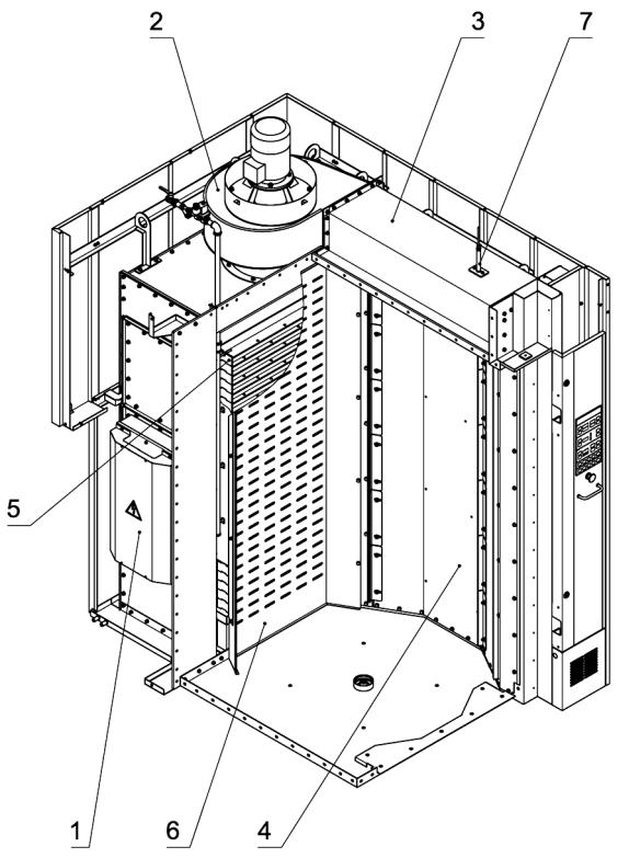 Устройство камеры печи Ротор-Агро