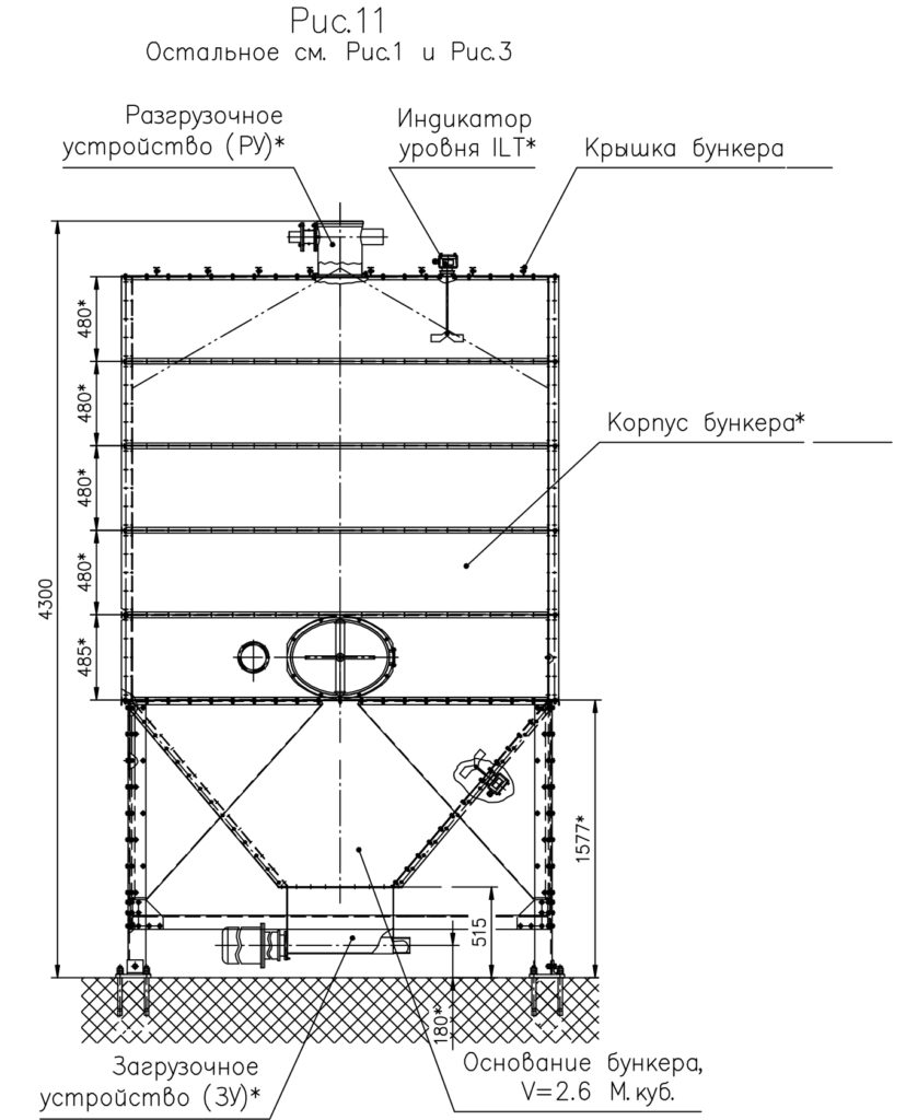 Бункер модульный - Рисунок 11