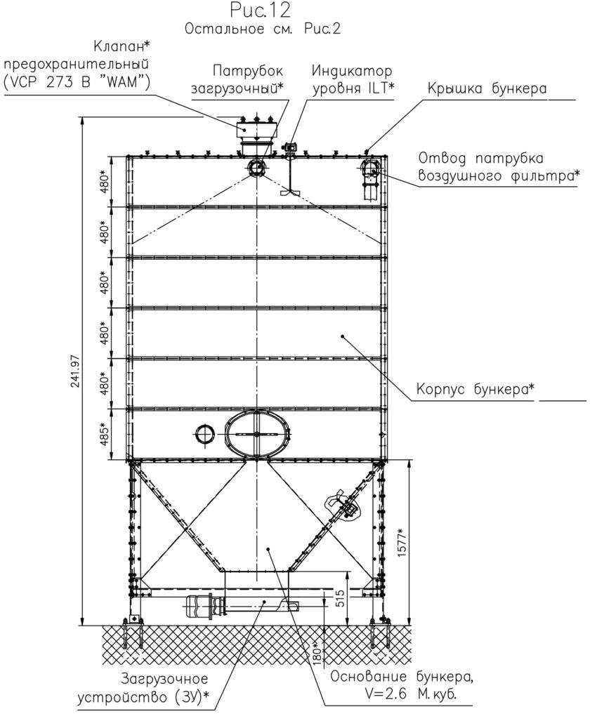 Бункер модульный - Рисунок 12
