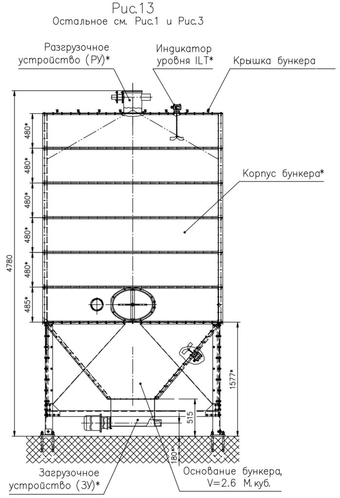 Бункер модульный - Рисунок 13