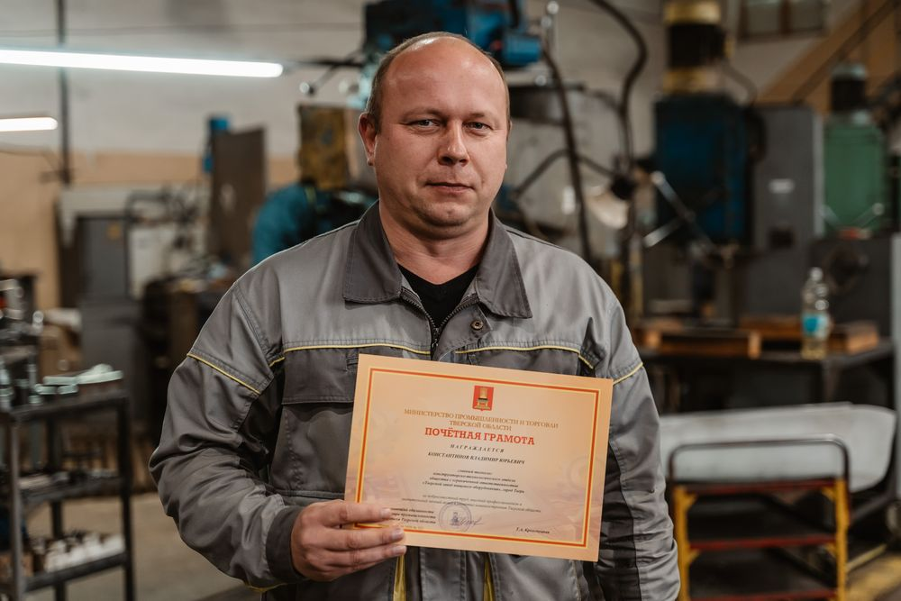 главный технолог Владимир Константинов